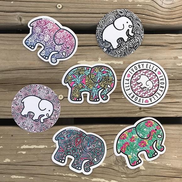 36c6ab369 Ivory Ella Stickers